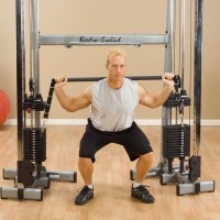Body-Solid GDCC Functional Trainer Bar Attachment