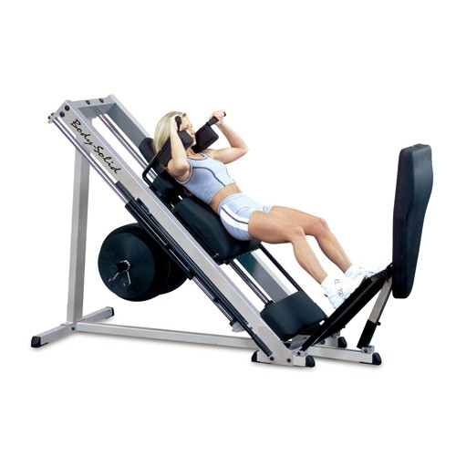 Body-Solid Linear Bearing Leg Press/Hack Squat