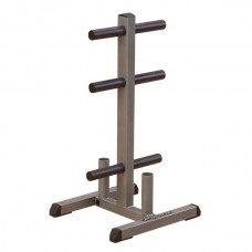 Body-Solid Olympic Plate Tree & Bar Holder