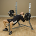 Body-Solid Pro Club-Line Incline Olympic Bench