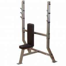 Body-Solid Pro Club Shoulder Press Olympic Bench