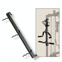 G Series Gym Mounted Accessory Rack