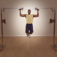 Lat Pull-Up / Chin-Up Station